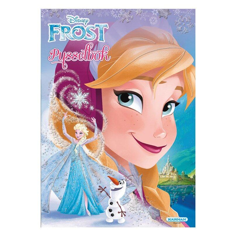 Egmont Kärnan Frozen Puuhakirja 24 sivua