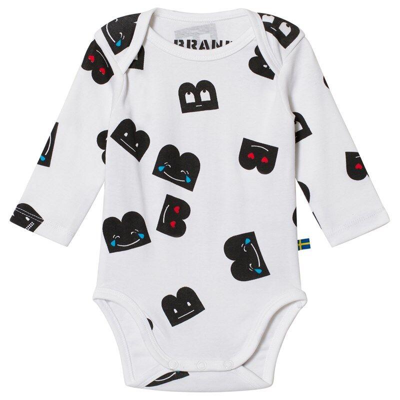 The BRAND Baby Body Aop B-Mojis80/86 cm