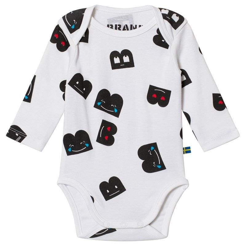 The BRAND Baby Body Aop B-Mojis56/62 cm
