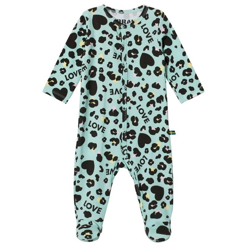 The BRAND Baby Pyjama Turkoosi Leo68/74 cm