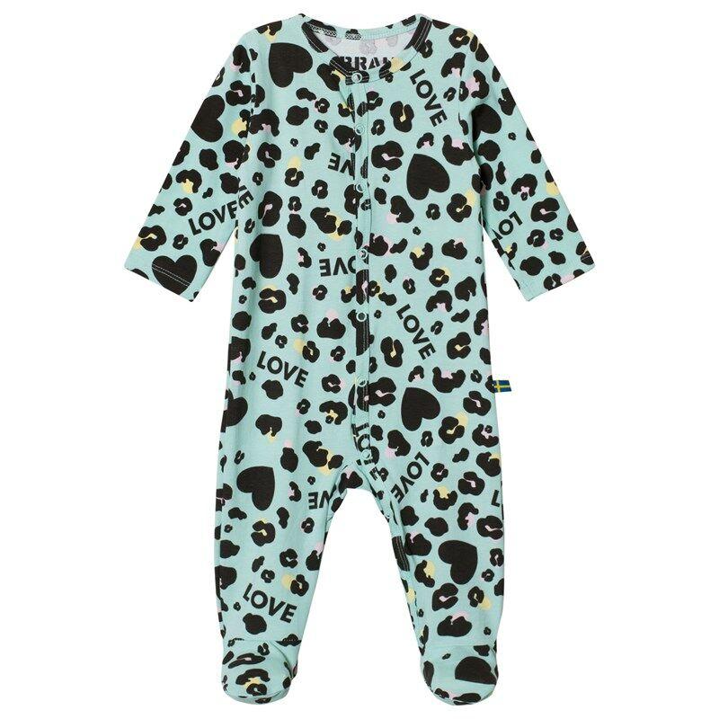 The BRAND Baby Pyjama Turkoosi Leo80/86 cm