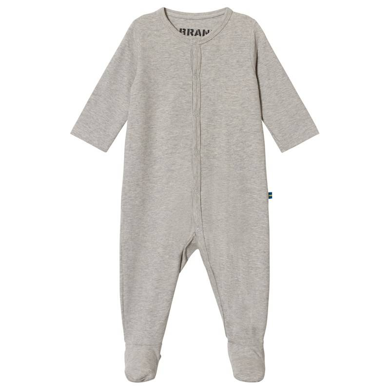 The BRAND Baby Pyjama Grey Melange56/62 cm