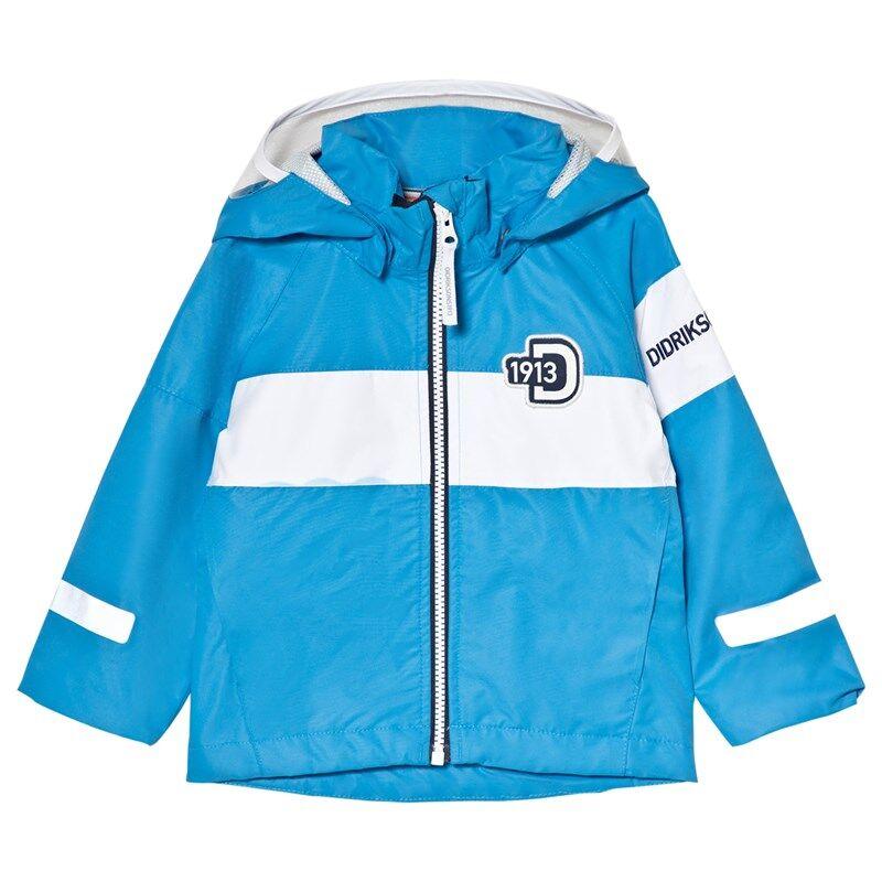 Didriksons Kalix Kids Takki Sharp Blue120 cm