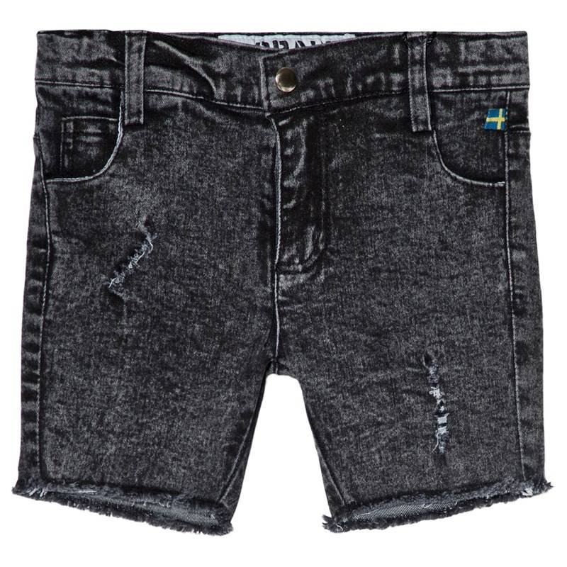 The BRAND Stone Wash Shorts Distressed Grey116/122 cm