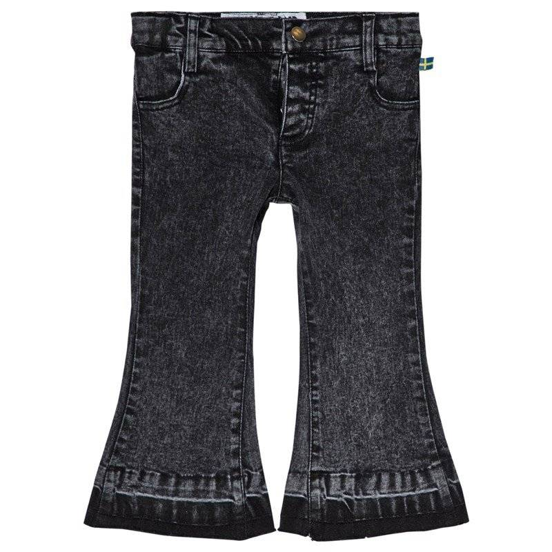 The BRAND Stone Wash Flared Jeans Distressed Grey92/98 cm