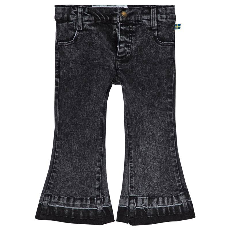 The BRAND Stone Wash Flared Jeans Distressed Grey116/122 cm