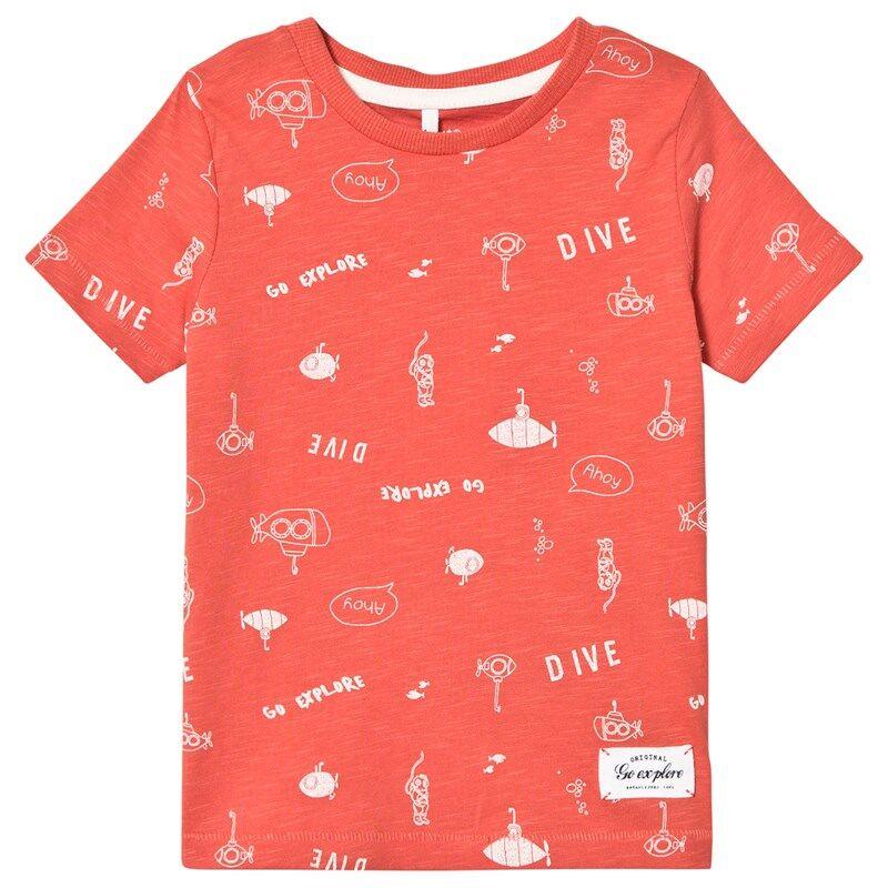 Name It Farol T-shirt Spiced Coral86 cm (1-1,5 v)