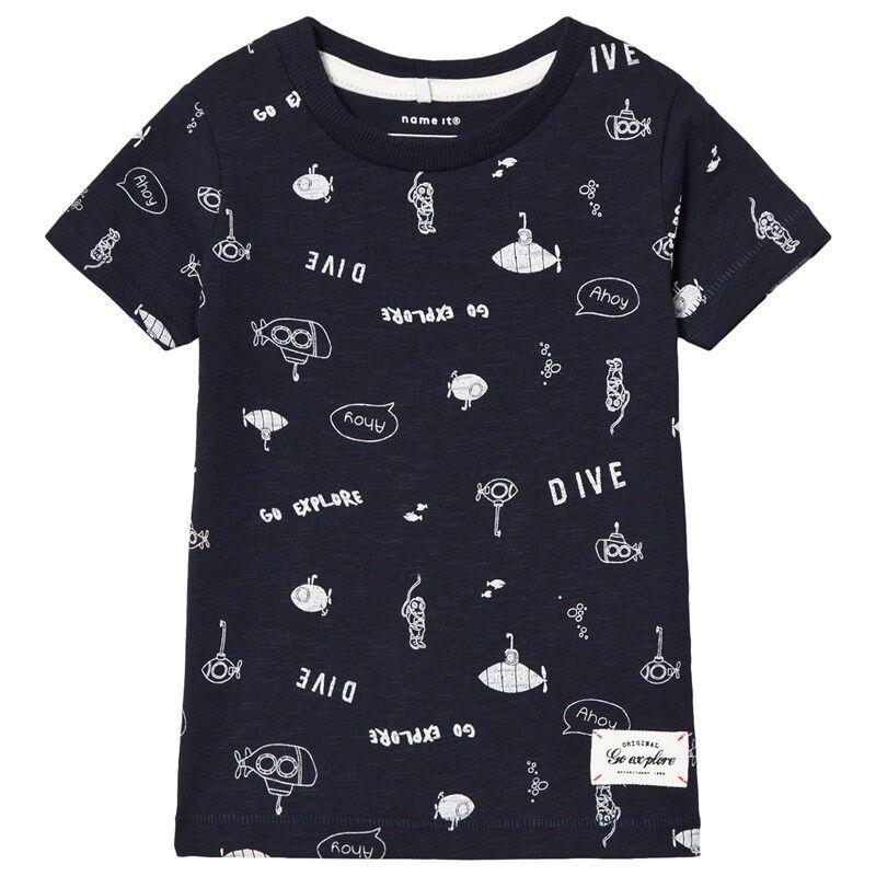 Name It Farol T-shirt Dark Sapphire80 cm (9-12 kk)