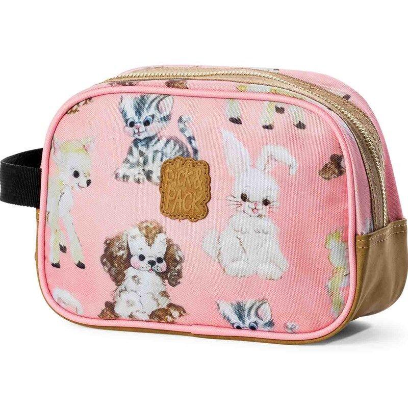 Pick & Pack Toilettilaukku Cute Vaaleanpunainen