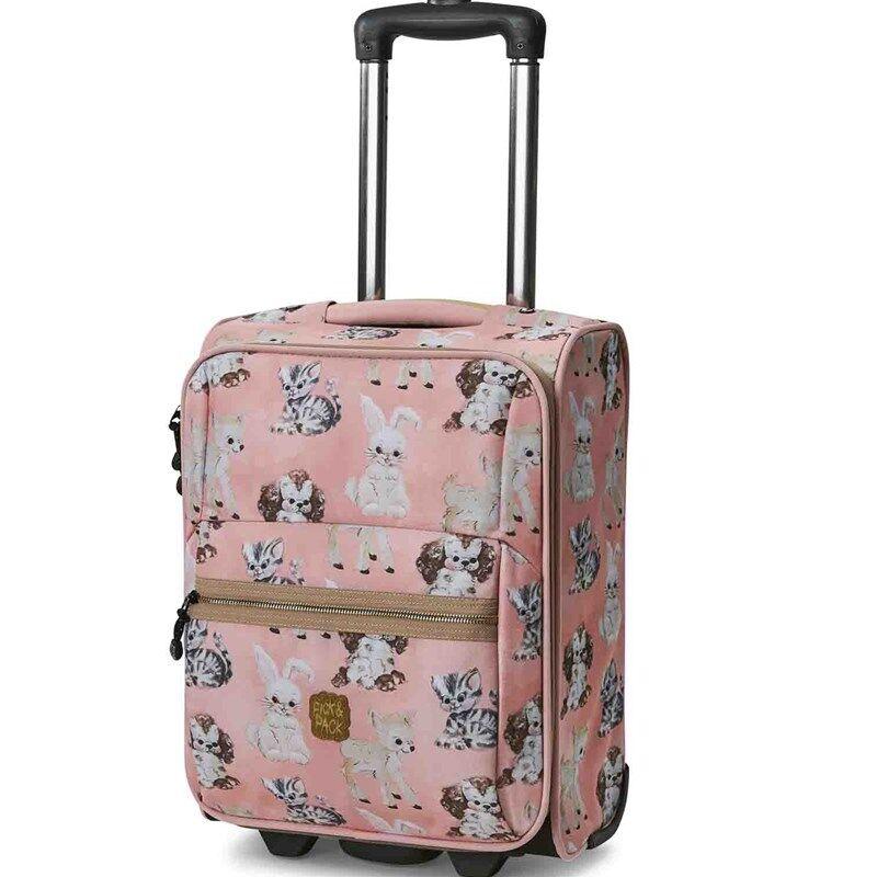 Pick & Pack Matkalaukku Cute Vaaleanpunainen