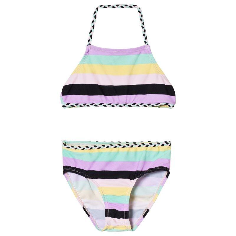 The BRAND Palmikko Bikini Pastelliraidallinen92/98 cm