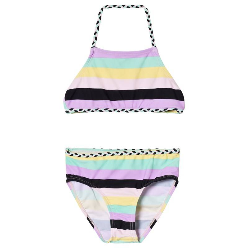 The BRAND Palmikko Bikini Pastelliraidallinen104/110 cm