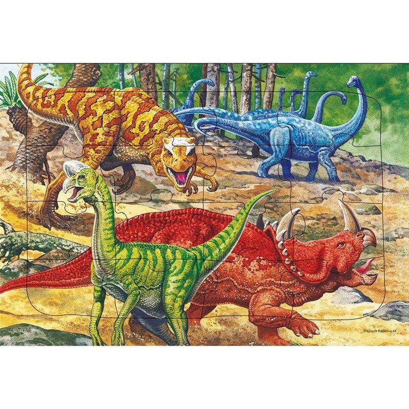 Egmont Kärnan Palapeli Dinosaurus 16 palaa