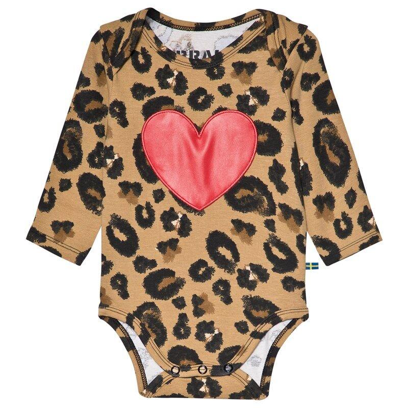 The BRAND Heart Baby Body Leo68/74 cm