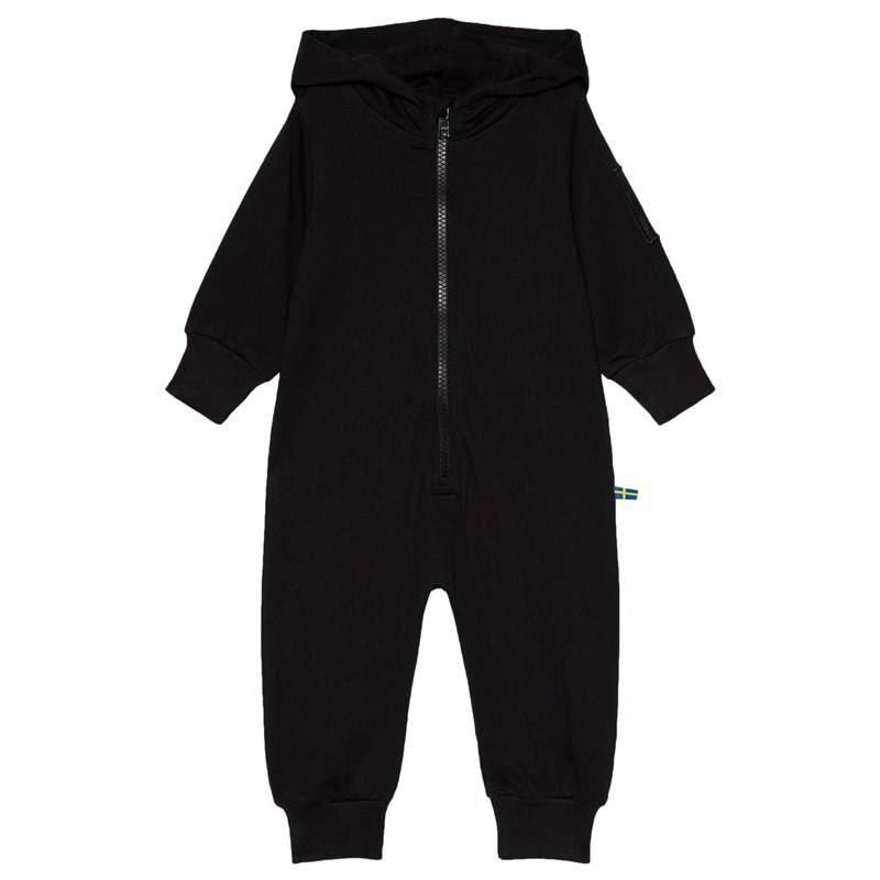 The BRAND One-Piece Hoodie Musta68/74 cm