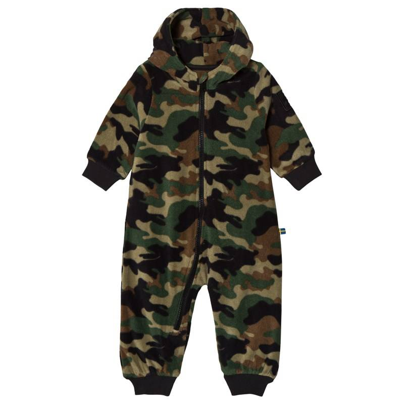The BRAND Fleece Vauvan Potkupuku Camo104/110 cm