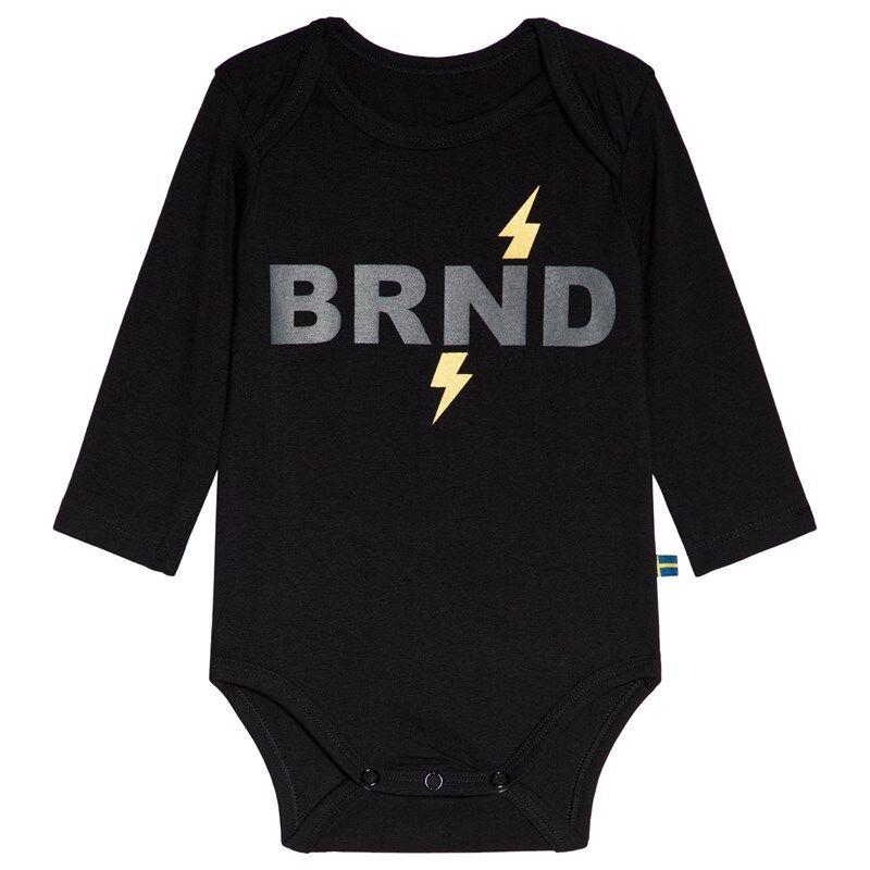 The BRAND Baby Body BRND Musta56/62 cm