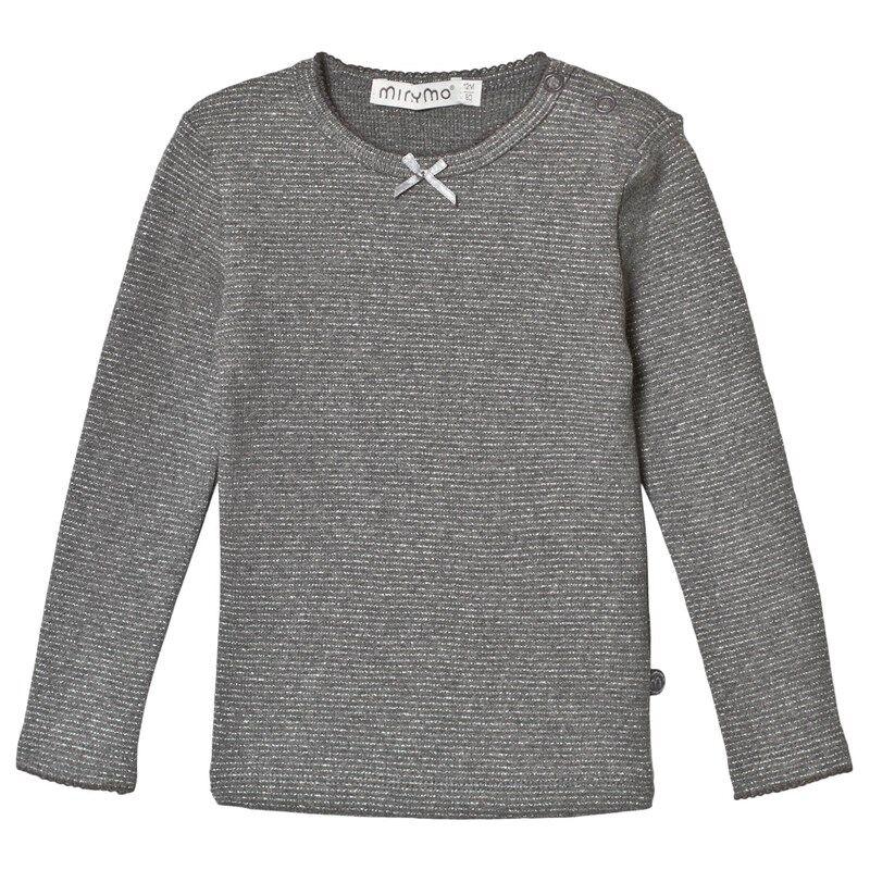 Minymo Kimaltava Pitkähihainen Paita With Lurex Excalibur92 cm (1,5-2 v)