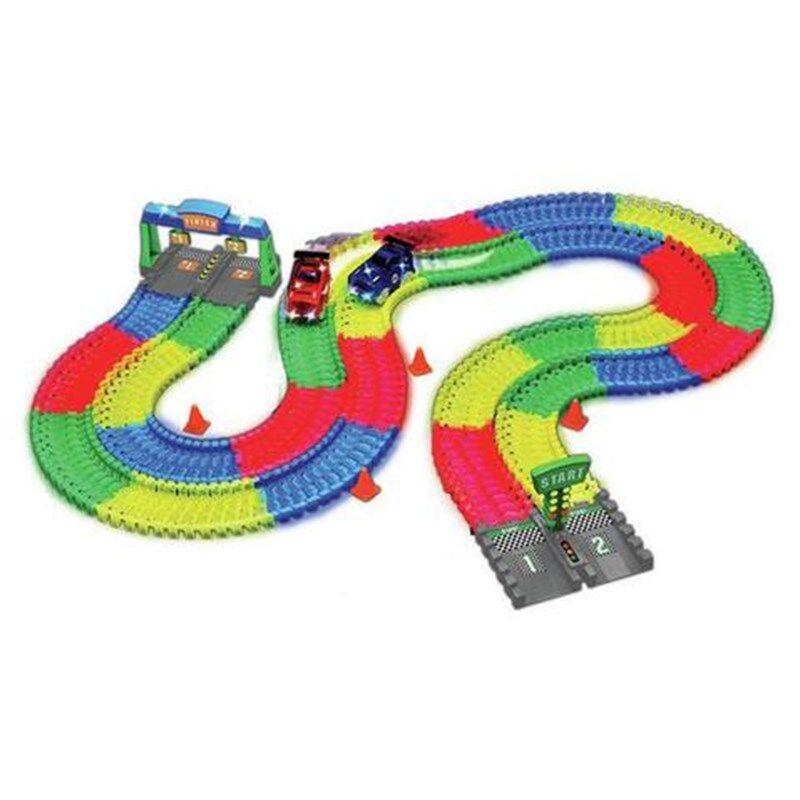 Magic Tracks Kilpa-auto Setti