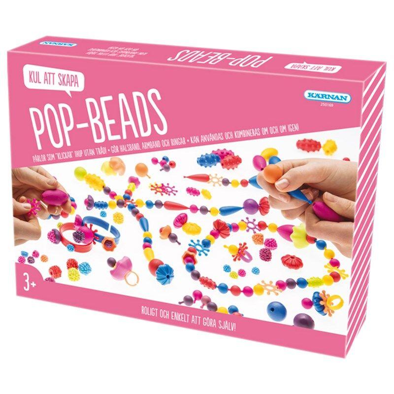 Egmont Kärnan Pop-Beads Helmisetti Suuri Laatikko