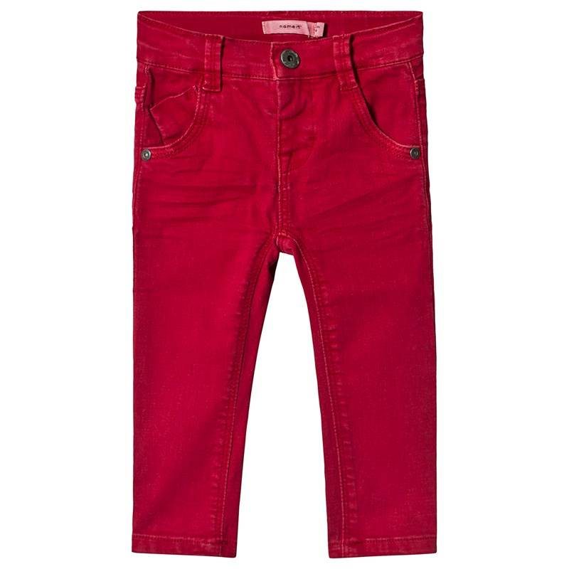 Name It Theo Housut Jester Red110 cm (4-5 v)