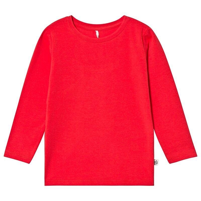 A Happy Brand Pitkähihainen T-paita Punainen98/104 cm