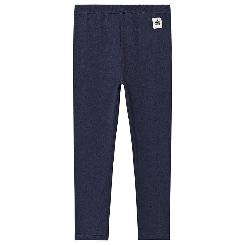 A Happy Brand Leggingsit Navysininen122/128 cm