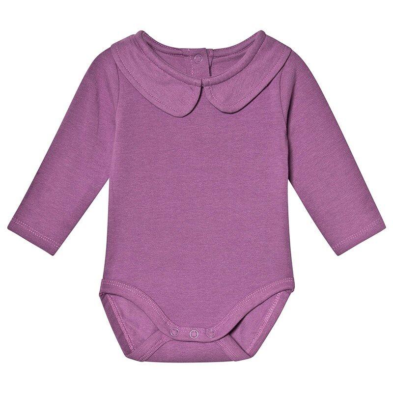 A Happy Brand Vauvanbody Kauluksella Violetti50/56 cm