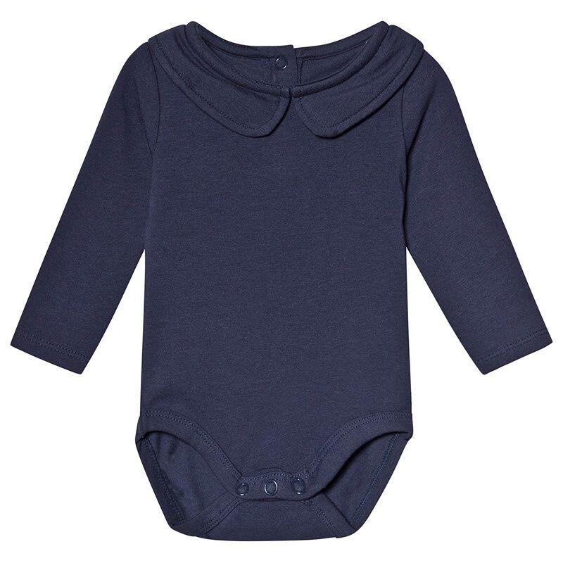A Happy Brand Vauvanbody Kauluksella Navysininen50/56 cm