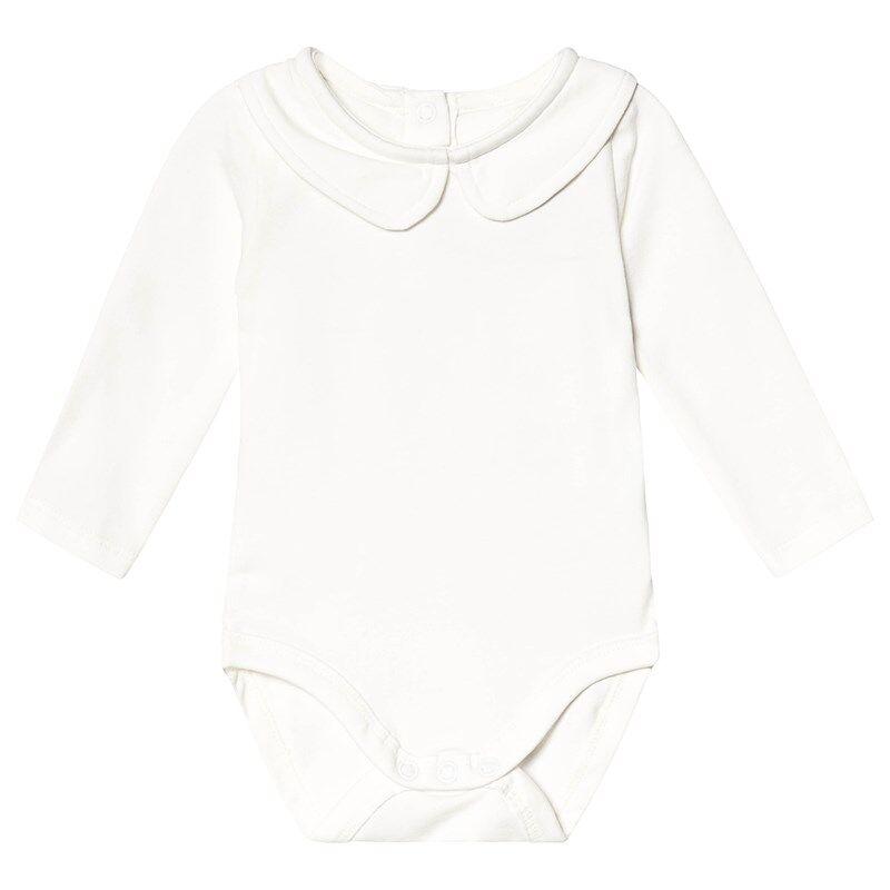 A Happy Brand Vauvanbody Kauluksella Valkoinen50/56 cm