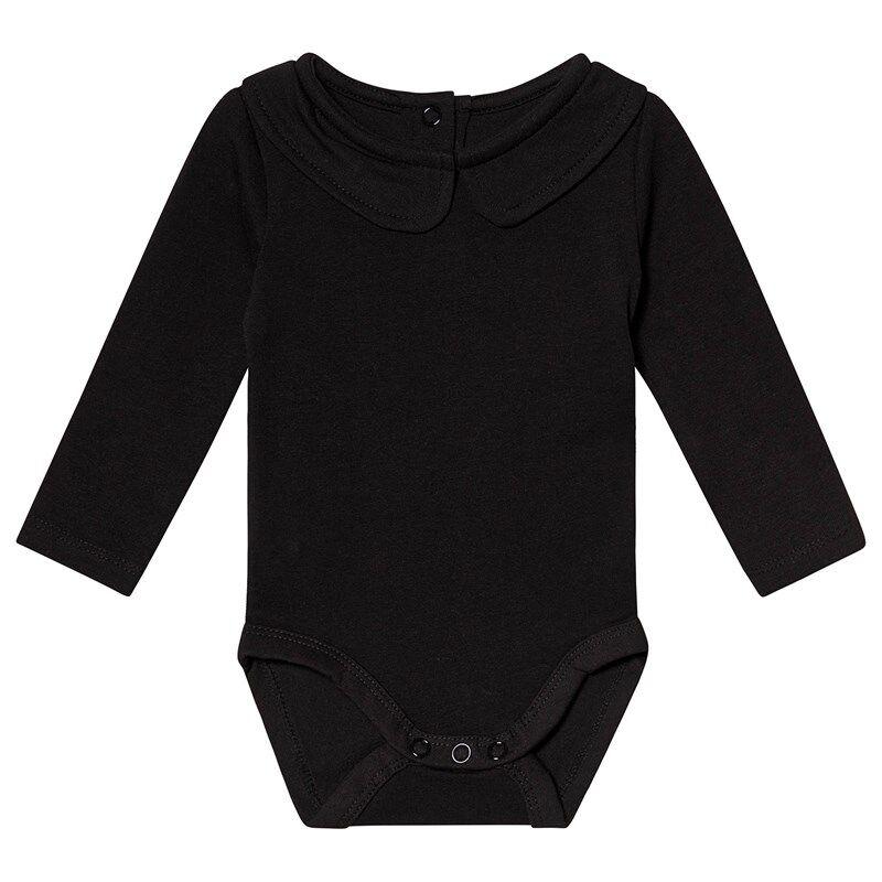 A Happy Brand Vauvanbody Kauluksella Musta50/56 cm