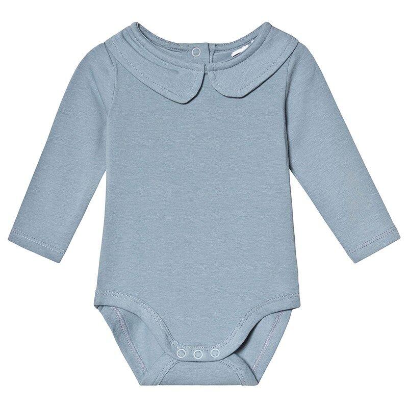 A Happy Brand Vauvanbody Kauluksella Harmaa50/56 cm