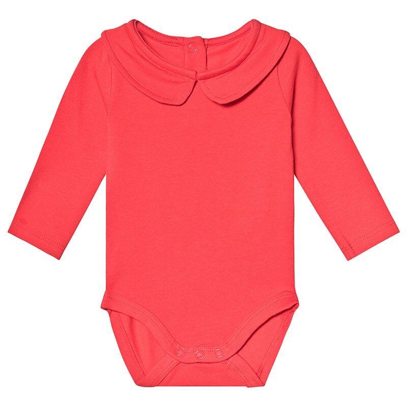 A Happy Brand Vauvanbody Kauluksella Punainen50/56 cm