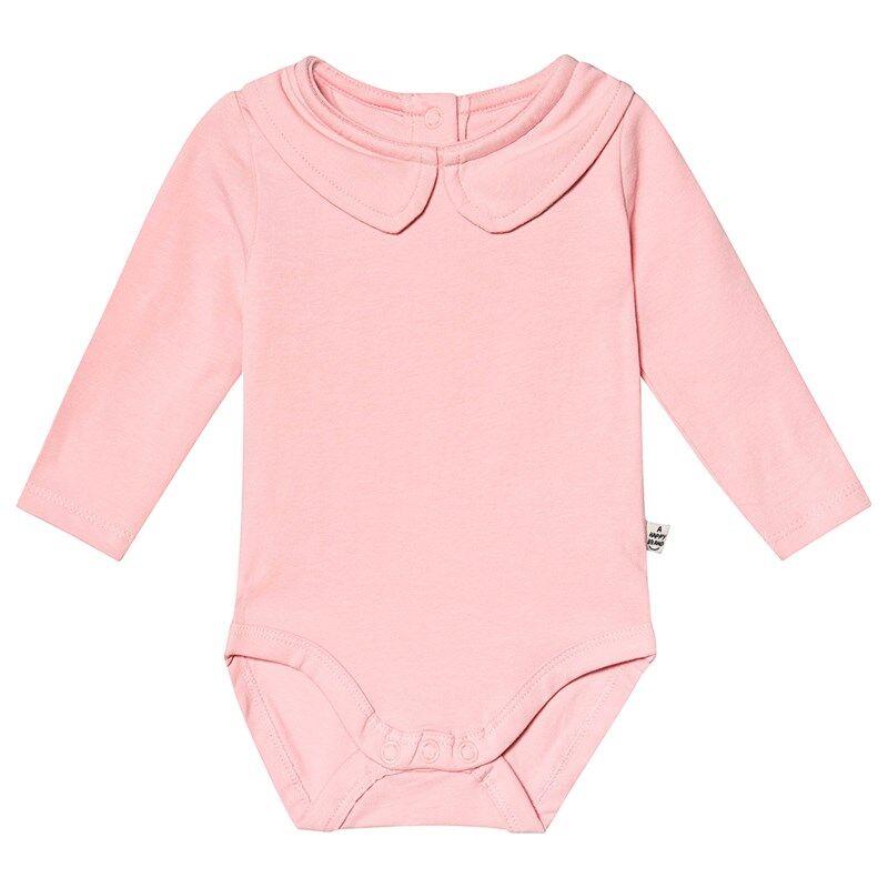 A Happy Brand Vauvanbody Kauluksella Vaaleanpunainen86/92 cm