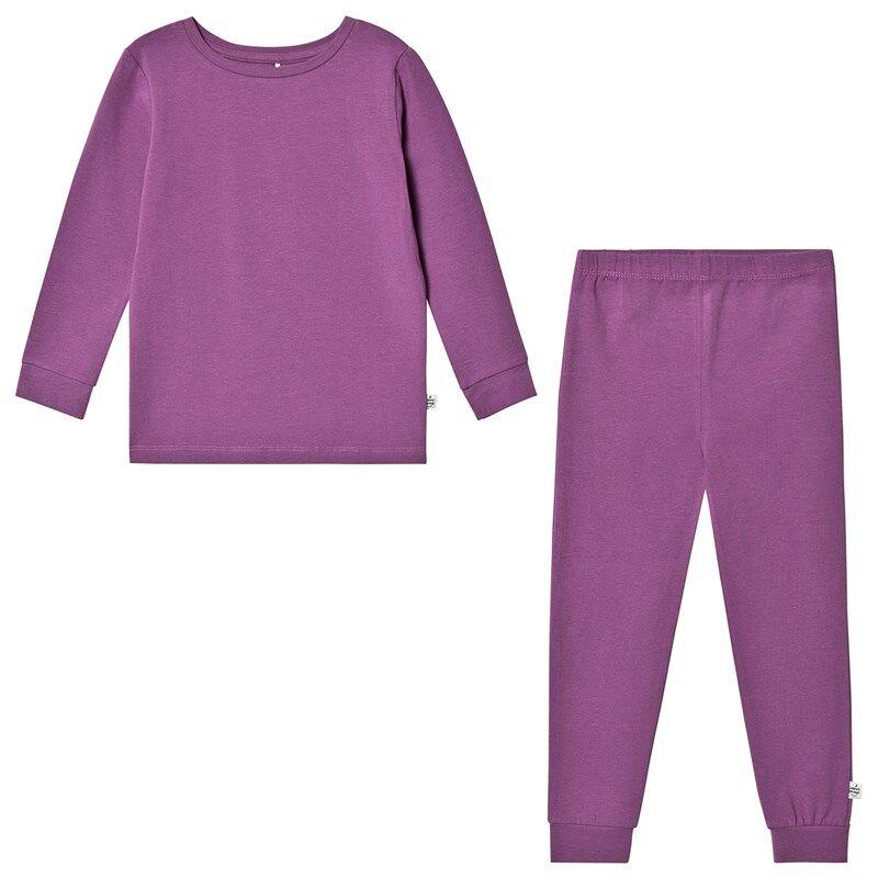 A Happy Brand Pyjamasetti Violetti86/92 cm