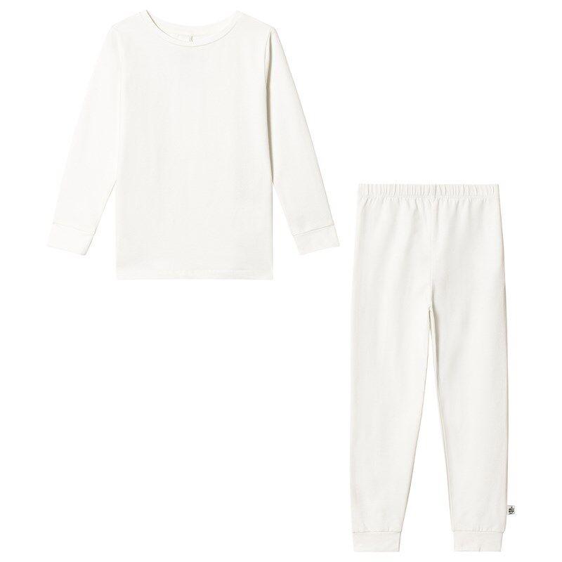 A Happy Brand Pyjamasetti Valkoinen110/116 cm