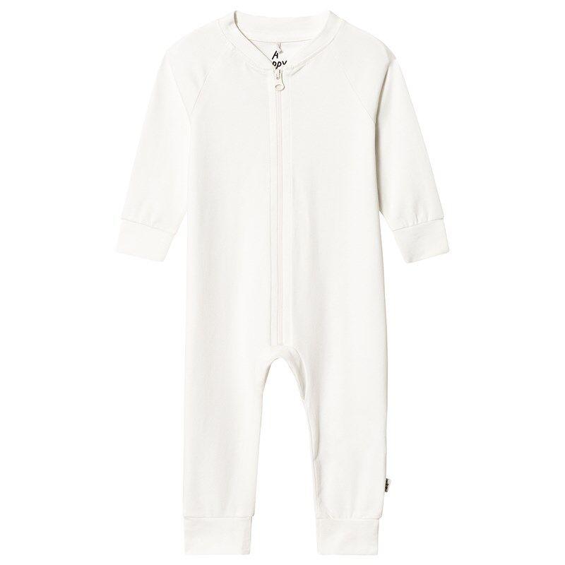 A Happy Brand Baby Bodysuit Valkoinen50/56 cm