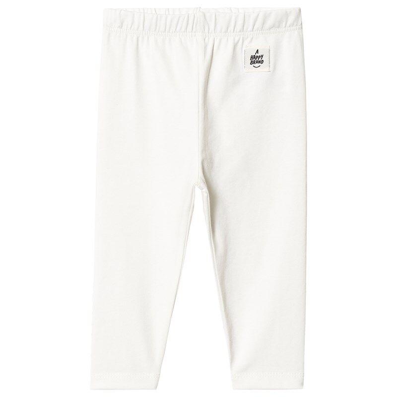 A Happy Brand Vauvan Leggingsit Valkoinen50/56 cm