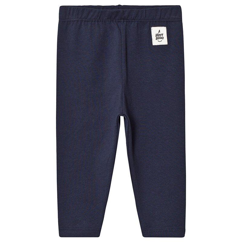 A Happy Brand Vauvan Leggingsit Navysininen50/56 cm