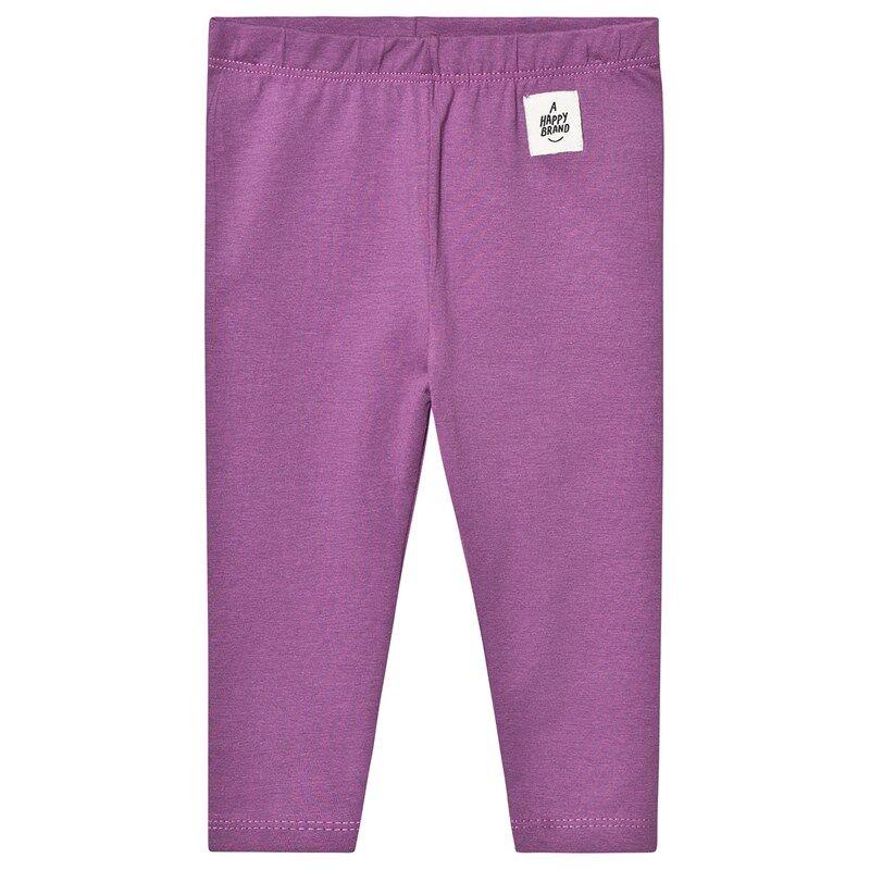 A Happy Brand Vauvan Leggingsit Violetti86/92 cm