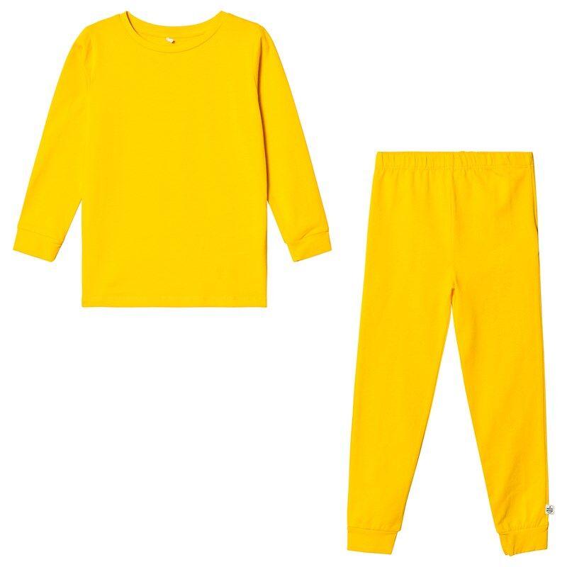 A Happy Brand Pyjamasetti Keltainen86/92 cm