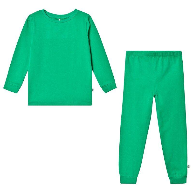 A Happy Brand Pyjamasetti Vihreä122/128 cm