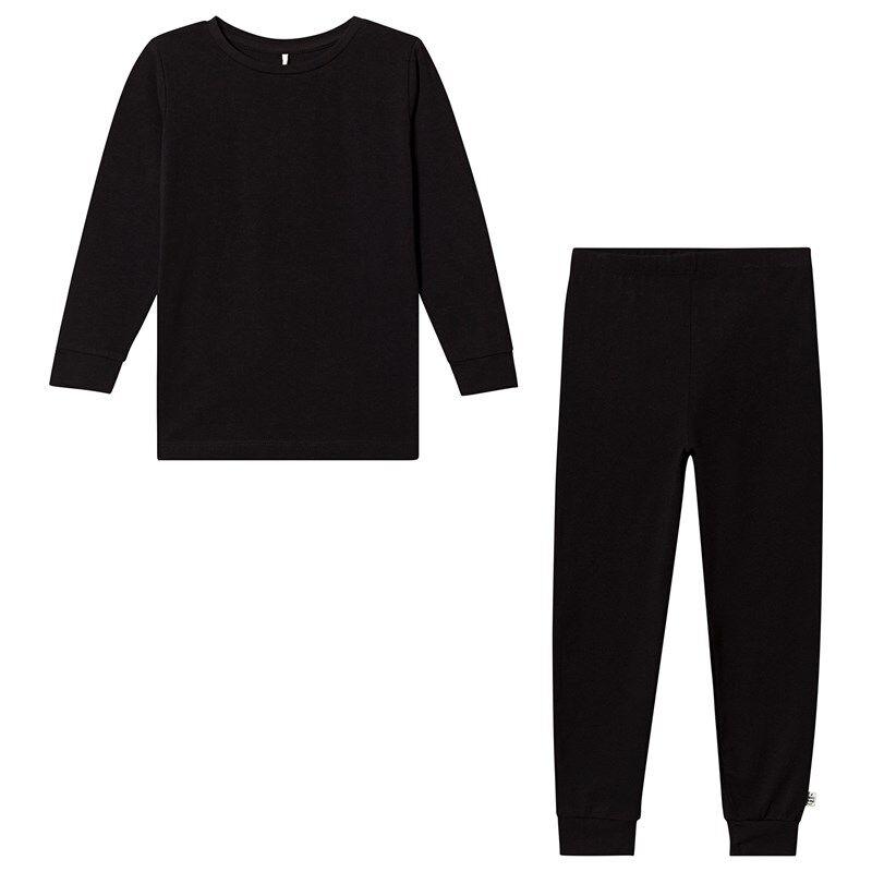 A Happy Brand Pyjamasetti Musta134/140 cm