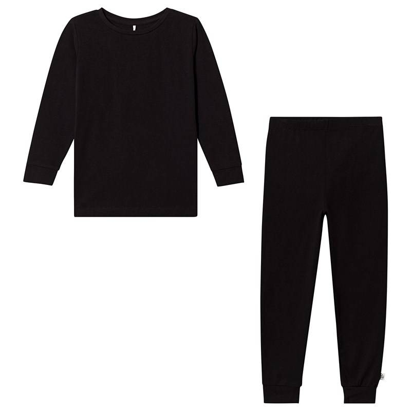 A Happy Brand Pyjamasetti Musta86/92 cm