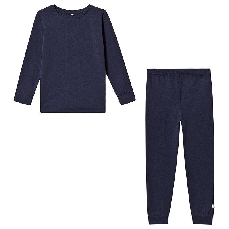 A Happy Brand Pyjamasetti Navysininen86/92 cm