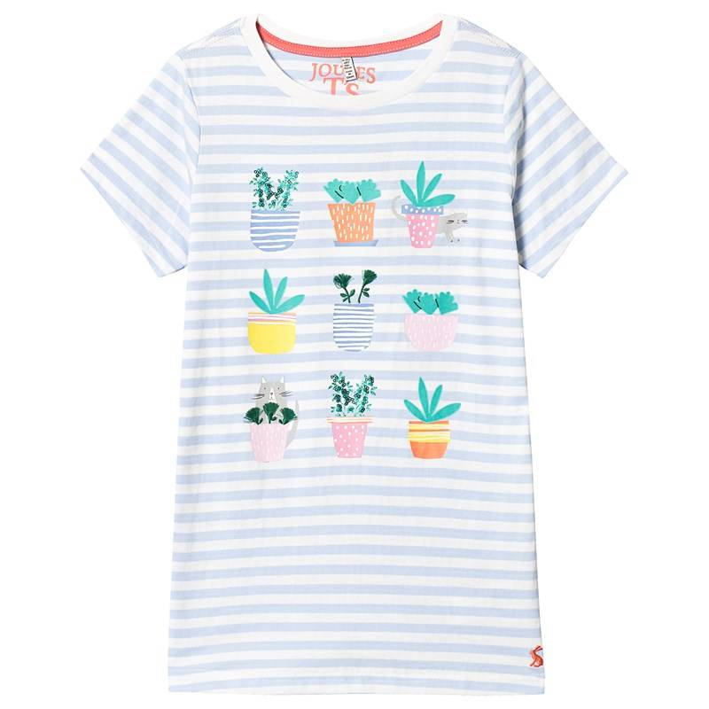 Joules Kaktus T-paita Valkoinen7-8 years