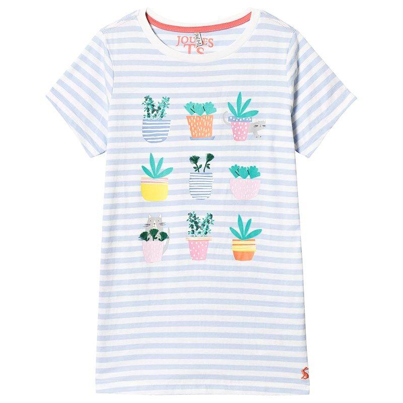 Joules Kaktus T-paita Valkoinen9-10 years