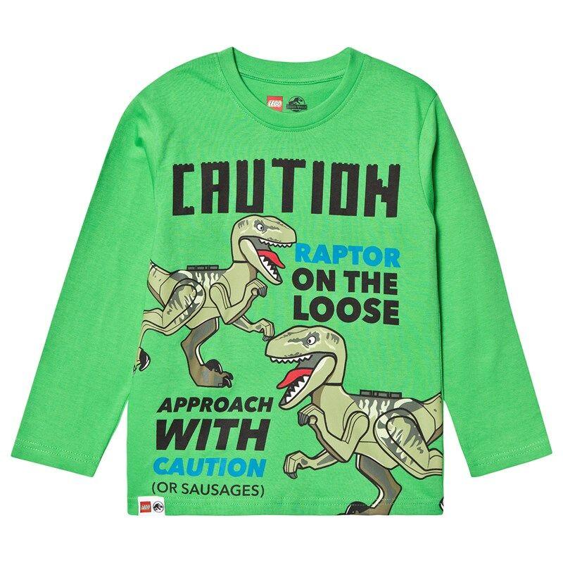 Lego Dino T-Shirt L/S Green104 cm (3-4 v)