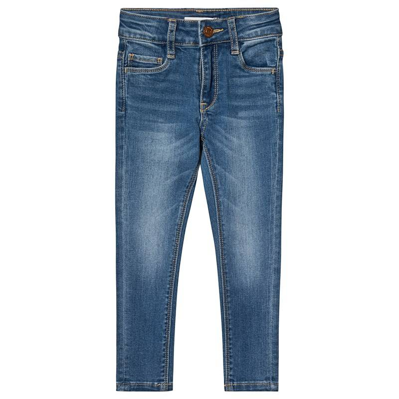 Levis Kids Blue Mid Wash 721 High Waisted Jeans4 years