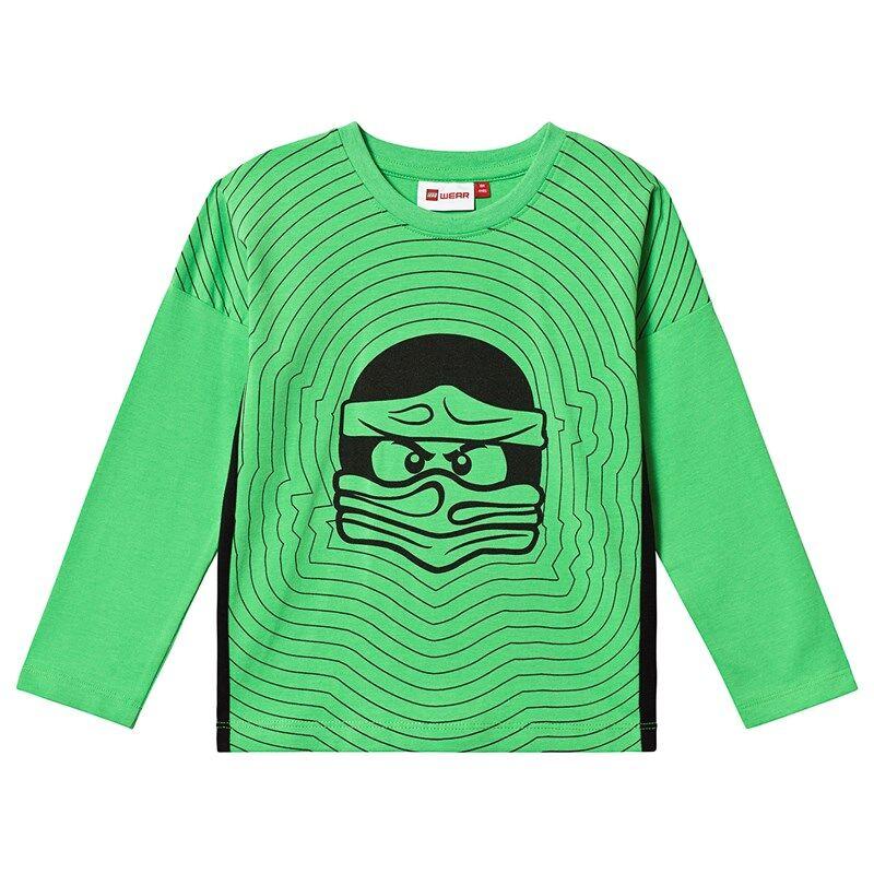 Lego Tiger T-Shirt L/S Green104 cm (3-4 v)